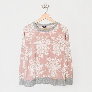 🌱 Splendid Pink + Grey Sweatshirt | Small